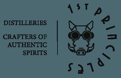 1st Principles Distilleries Logo on transparent background