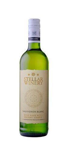 Stellar Organics Organic Sauvignon Blanc wine.